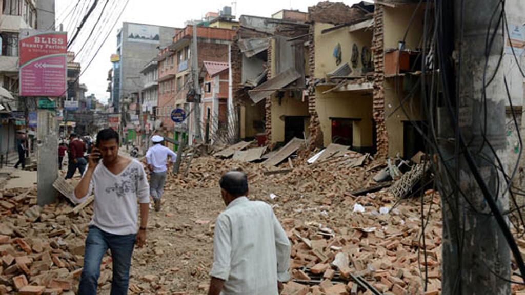 مخلفات الزلزال