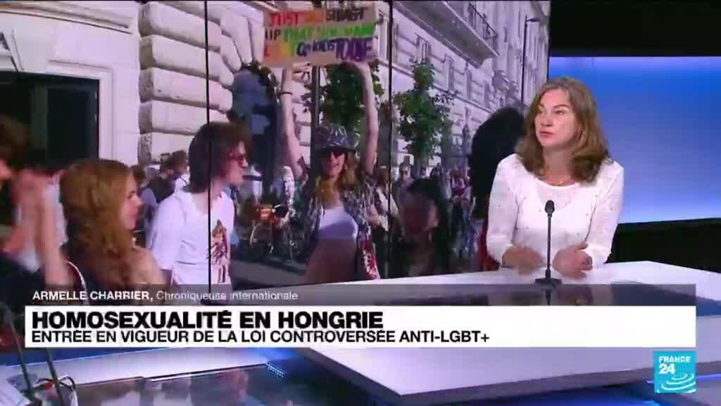 2021-07-07 10:02 Hongrie : quel était l'objectif initial de la loi controversée anti-LGBT+ ?