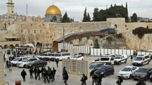 القدس في 15 ديسمبر/كانون الأول 2017
