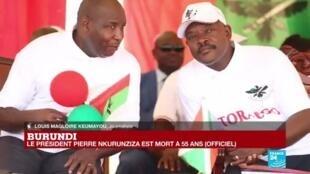 """2020-06-09 17:06 Décès de Pierre Nkurunziza, président du Burundi : """"Il n'y aura pas de vacance du pouvoir"""""""