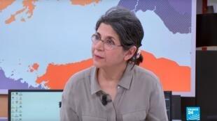 La chercheuse franco-iranienne Fariba Adelkhah, détenue en Iran, a entamé une grève de la faim et de la soif, le 24 décembre 2019.