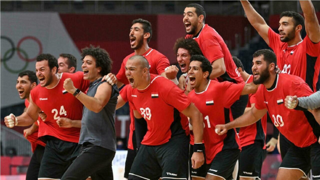 egypte handball tokyo afp