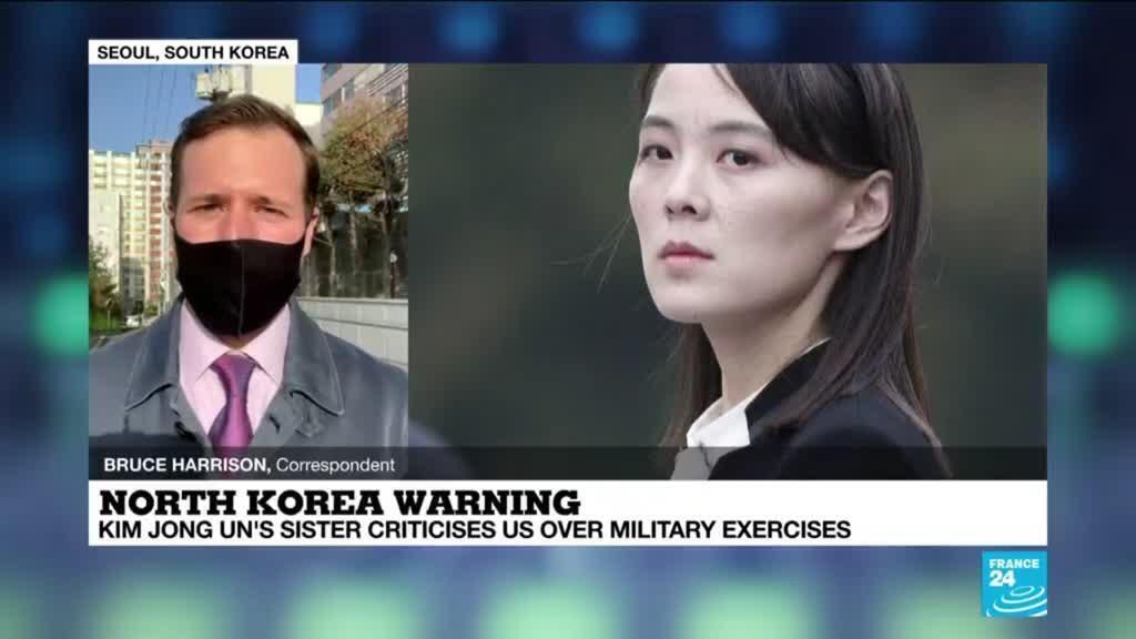2021-03-16 09:07 North Korean leader's sister warns US as Biden envoys begin Asia trip
