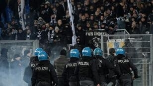 Racist and anti-semitic chants were heard from Lazio fans during their Italian Cup tie against Novara
