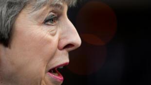 La primera ministra británica, Theresa May, llega a una cumbre de líderes de la Unión Europea en Bruselas, Bélgica, el 21 de marzo de 2019.