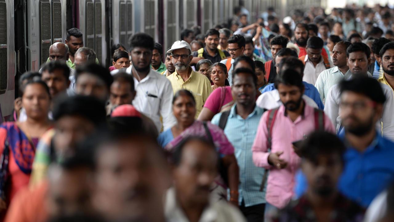 محطة مترو شيناي في الهند وقت الذروة 11 يوليو/تموز 2018.