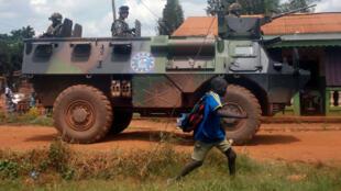 Soldats français engagés fin 2013 dans l'opération Sangaris en Centrafrique.