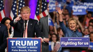 Donald Trump et Hillary Clinton confirment leur avance dans la course à l'investiture.