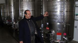 Nadim Khoury a fondé, avec son frère, la seule cave 100% palestinienne de Cisjordanie.
