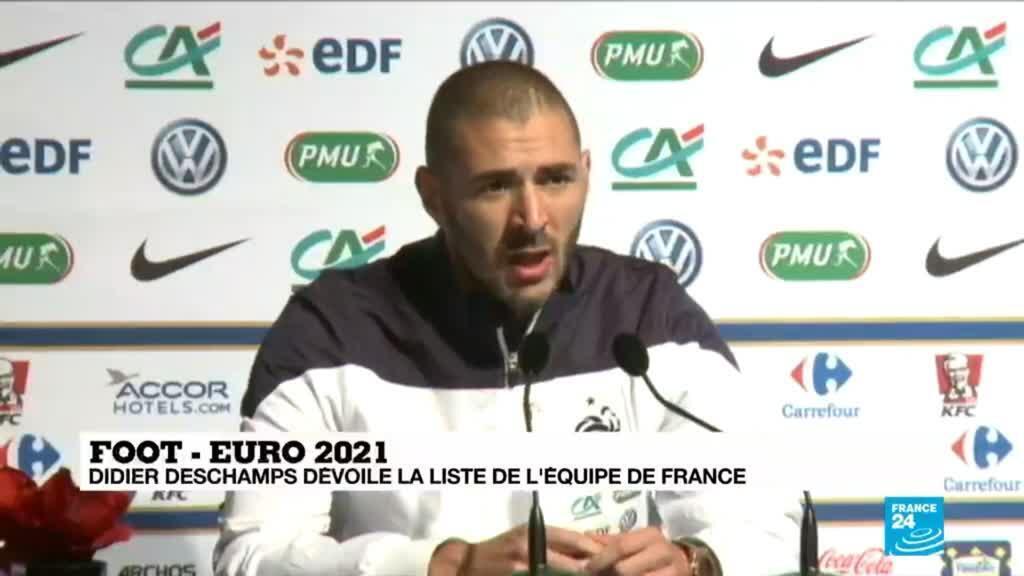 2021-05-18 21:01 Karim BENZEMA est de retour en équipe de France - EURO-2021