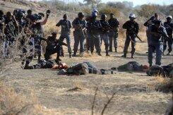 Le 16 août 2012, 34 mineurs sont morts à Marikana.