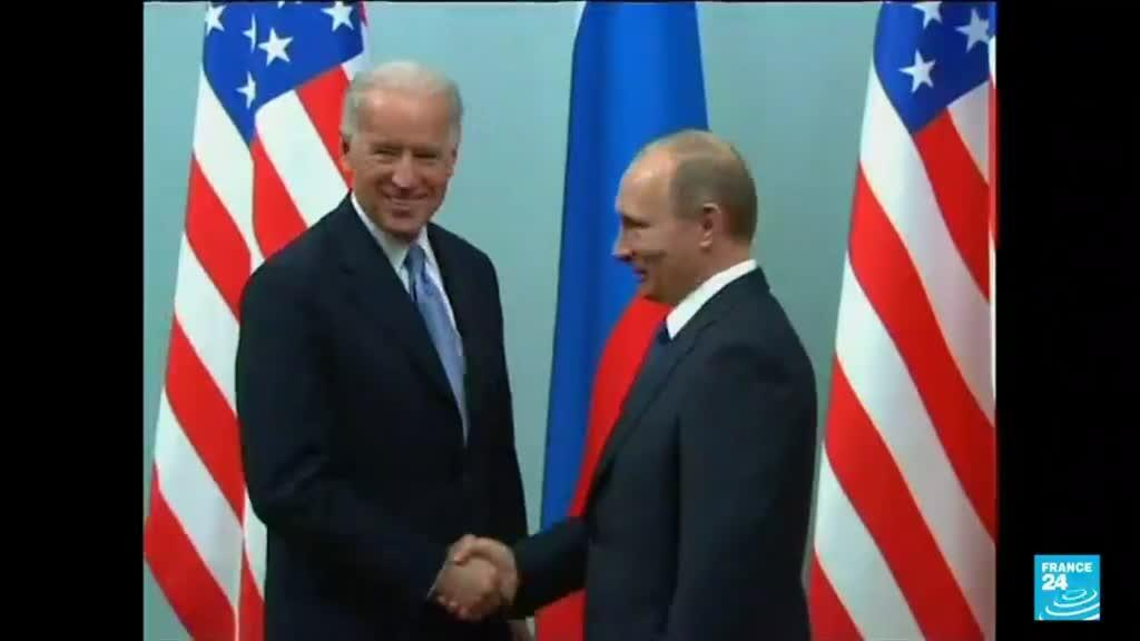 2021-06-15 12:03 US President promises to lay down 'red lines' to Moscow