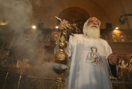 File photo of Coptic church in Egypt