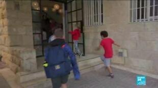 2020-11-03 15:10 Israël : rentrée des classes avec deux mois de retard