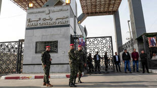 Le terminal de Rafah, la seule ouverture de la bande de Gaza sur le monde qui ne soit pas contrôlée par Israël.