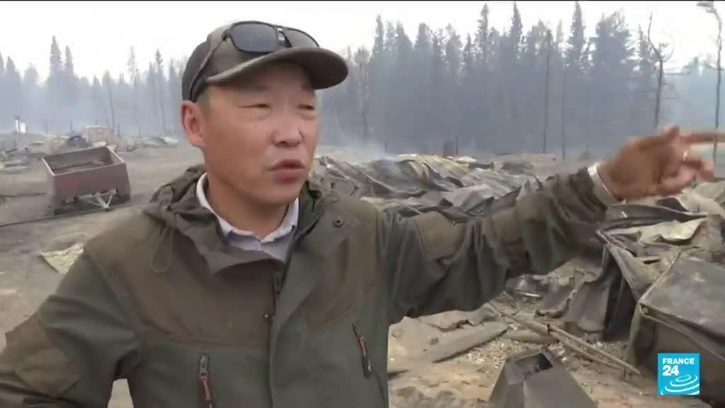2021-08-17 10:13 Feux de forêts en Sibérie : des millions d'hectares ravagés dans 5 régions