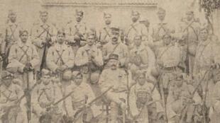 Les volontaires du Bengale à Toulon en 1916