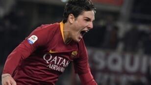 """""""Always believe in your dreams:"""" Roma midfielder Nicolo Zaniolo, 19, has had a breakthrough season in Italy"""