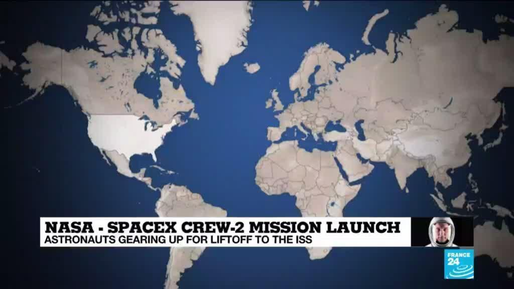 2021-04-23 10:01 SpaceX astronauts set for launch