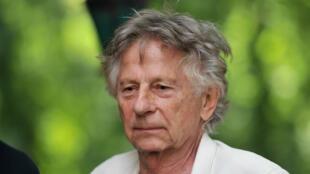 Roman Polanski, le 28 août 2016 à Chanceaux-près-Loches, lors d'un salon des livres.