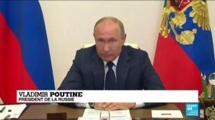 """2020-05-12 10:10 Covid-19 en Russie : Poutine autorise un déconfinement """"à la carte"""""""