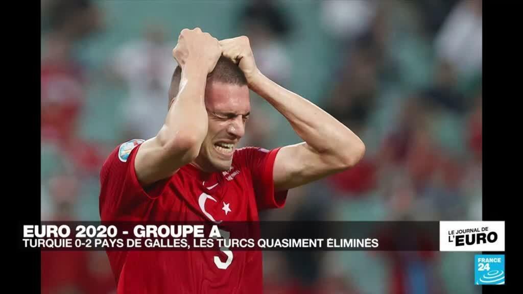 2021-06-16 23:50 Euro2021 : Turquie 0-2 Pays de Galles, les Turcs quasiment éliminés