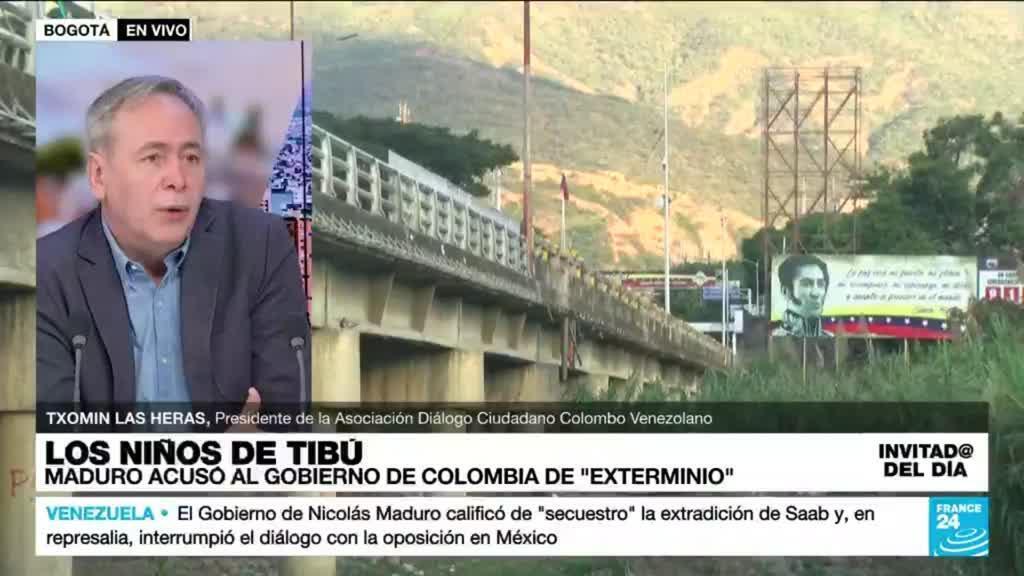 """2021-10-18 15:20 Txomin Las Heras: """"Las dinámicas de seguridad en Colombia también afectan la migración venezolana"""""""