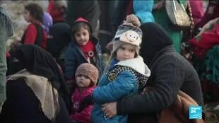 2019-12-24 14:09 Syria Idlib Offensive: mass exodus of civilians as government forces press ahead