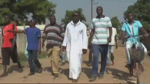 Un comité d'auto-défense dans l'enclave musulmane de PK-5 à Bangui.