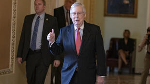 Senate Majority Leader Mitch McConnell hailed the unanimous passing of the $2 trillion lifeline