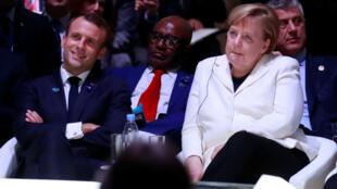 C'est à la Grande Halle de la Villette, dans le nord est parisien, que s'est tenu le Forum sur la paix de dimanche 11 novembre.