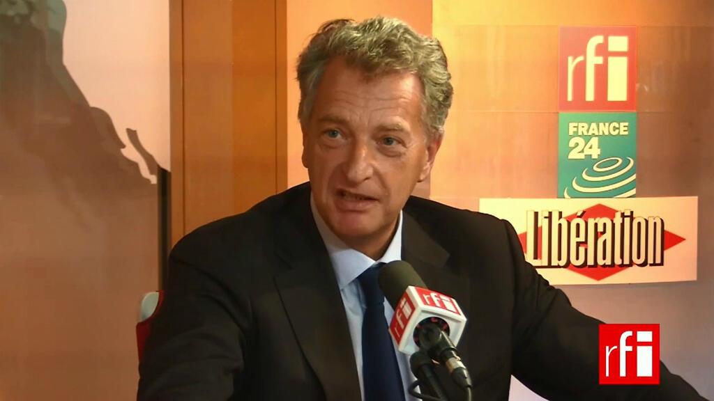 """Hervé Gaymard, invité de l'émission """"Mardi Politique"""", mardi 13 octobre 2015."""