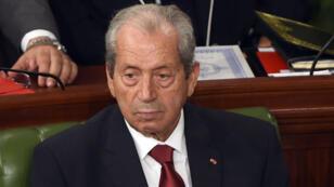 Mohamed Ennaceur assiste à la rentrée du premier Parlement tunisien le mardi 2 décembre 2014, après les législatives du mois précédent