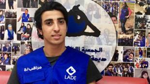 Hassan Sbeity est l'un des bénévoles de l'ONG Lade.