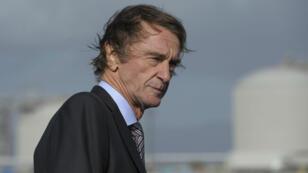 Jim Ratcliffe, richissime propriétaire du groupe pétrochimique Ineos.