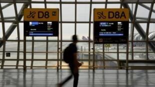 صورة من مطار بانكوك