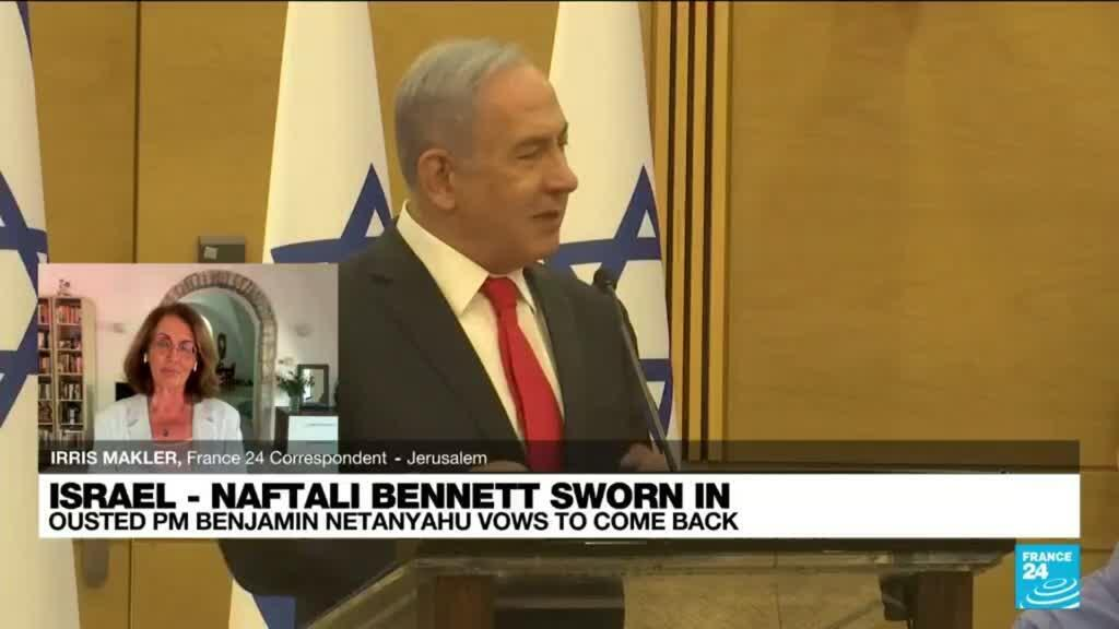 2021-06-14 15:04 Ousted PM Benjamin Netanyahu vows to come back