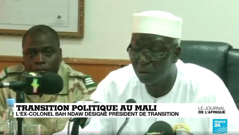 Bah Ndaw, colonel à la retraite et ex-ministre de la défense dirigera le Mali