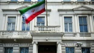 صورة للسفارة الايرانية في لندن التقطت في 20 شباط/فبراير 2014