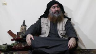 أبو بكر البغدادي في أول ظهور له في فيديو منذ 2014، نيسان/أبريل 2019