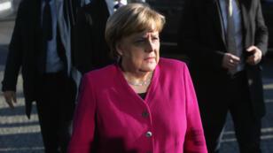 La chancelière allemande, Angela Merkel, à Berlin le 6 février 2018.
