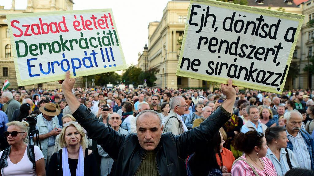 المجر لم تقبل أي لاجئ على أراضيها.