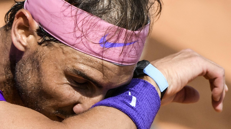 Le joueur de tennis espagnol Rafael Nadal à Rome, le 13 mai 2021