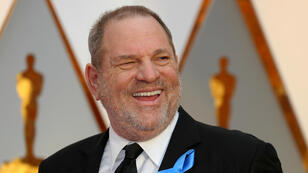 El productor Harvey Weinstein llega a la 89° ceremonia los Premios de la Academia en Hollywood, California, el 26 de febrero de 2017.