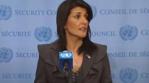 L'ambassadrice américaine à l'ONU Nikki Haley, le 2 janvier 2018.