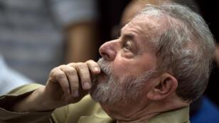 Lula à Sao Paulo, le 16 mars 2018.