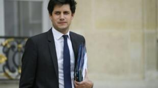 Le ministre de l'Agriculture, Julien Denormandie, le 17 octobre 2018, à l'Élysée.