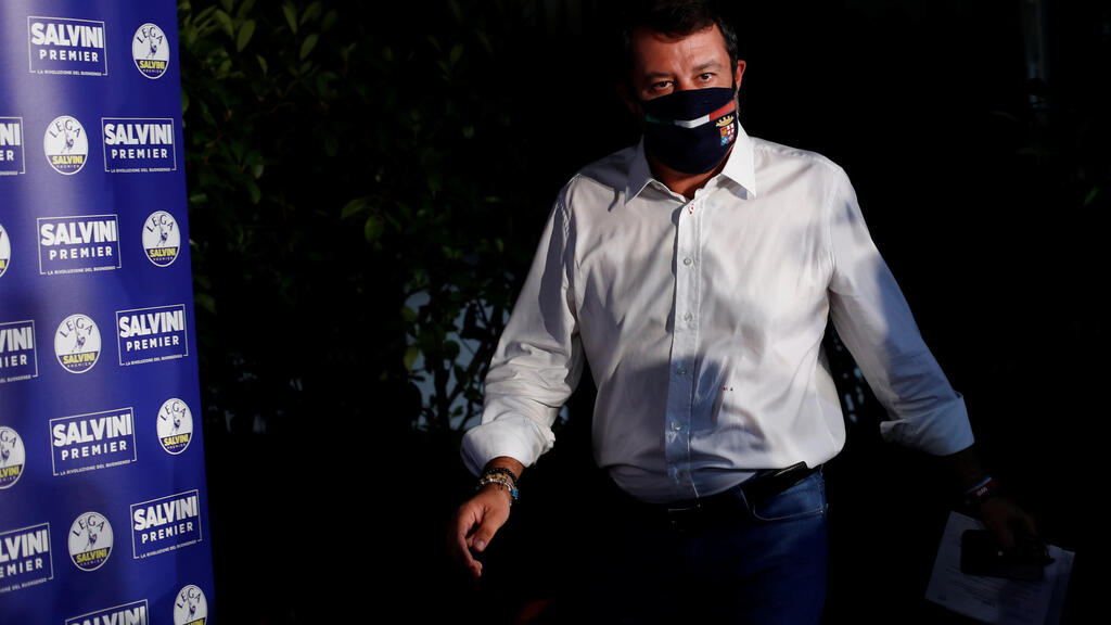 Italy government bolstered as Salvini falls short in regional polls