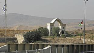 La localité de Baqoura, vue depuis Israël, en octobre 2018.