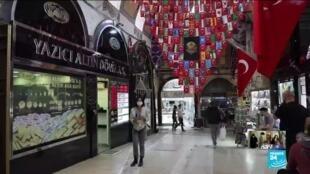 2020-06-01 17:13 Istanbul Grand Bazaar reopens as Turkey eases Covid-19 lockdown measures